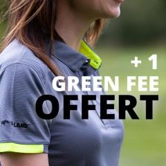 Pack de 3 Polos Mixtes + 1 Green Fee offert
