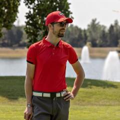 Polo Mixte Shiny Red