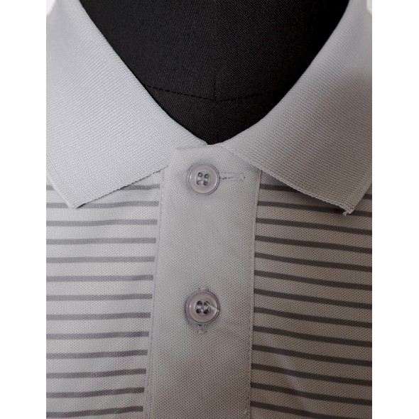 DOUBLE COLLAR TWISTCUT POLO